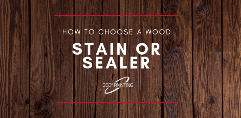 How to choose a wood stain or sealer