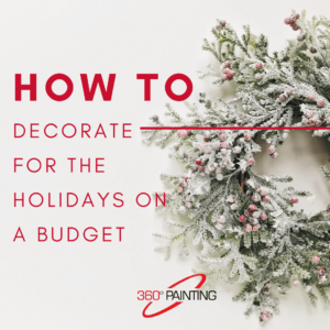 Wreath - How to decorate on a budget