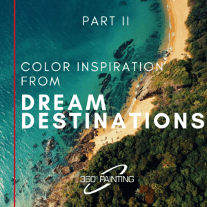 Color inspiration from dream destinations