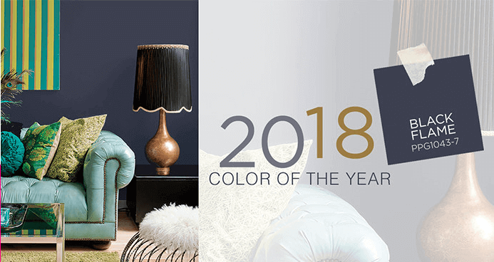 2018 color of the year: Black Flame