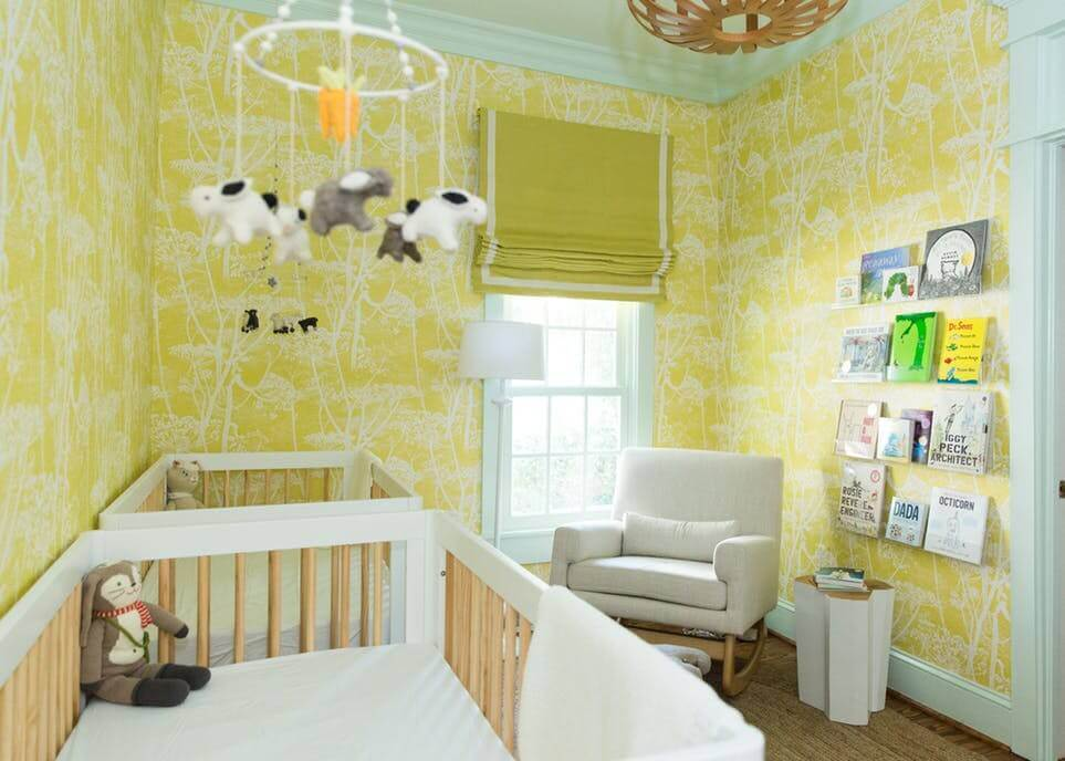 Yellow Kid's room