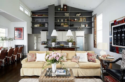 light and color in interior design layout