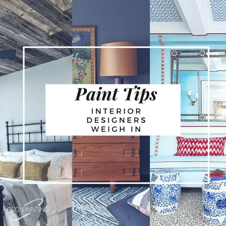 Paint Tips: Interior Designers Weigh In