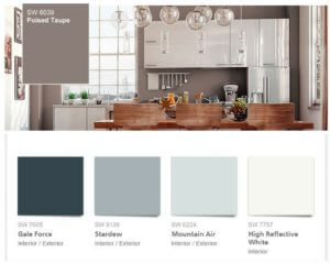 Sherwin-Williams color palette