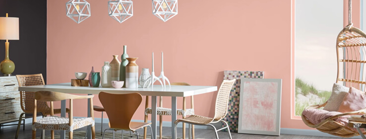 Sherwin-Williams Mellow Coral Paint Color