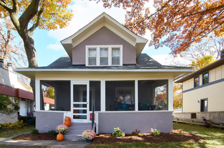 Exterior of home paint makeover